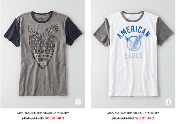 门市3折、网店4折!American Eagle Outfitters优惠放送