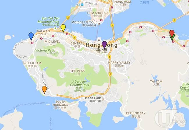 真·旧冰室地图(港岛篇)