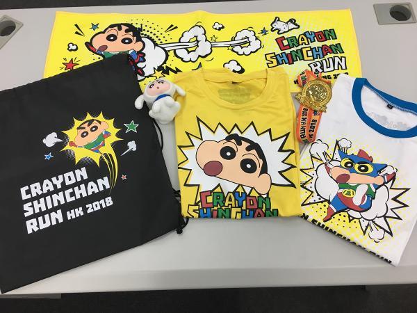 蜡笔小新动感跑HK 2018下周开启报名!