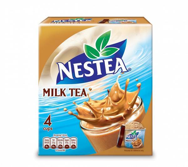 雀巢全新推出丝滑奶茶雪糕杯