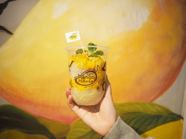 泰国人气芒果甜品店Mango Mania开幕!泰国水仙芒制作甜品